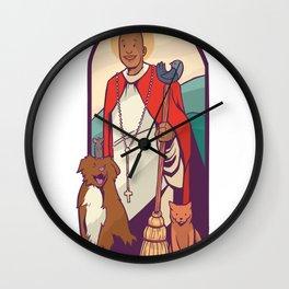 Saint Martin Wall Clock