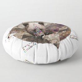 ANIMAL ECHOES Floor Pillow