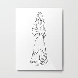 Dress code Metal Print