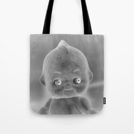 Cute Doll Portrait Tote Bag