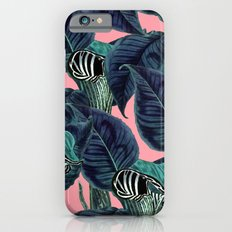 Tropical Flower Pattern #society6 #decor #buyart Slim Case iPhone 6