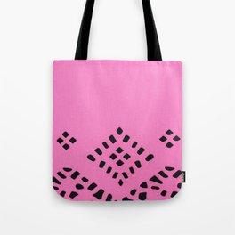 Pink Geo Tote Bag
