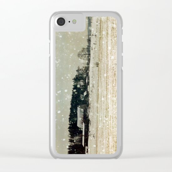Dunraven Clear iPhone Case