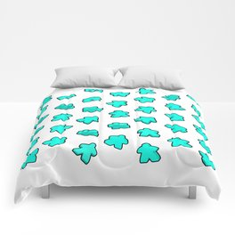 Meeple Mania Fresh Mint Comforters
