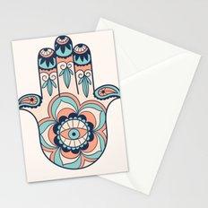 hamsa  decoration Stationery Cards