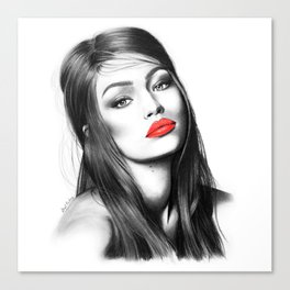 Gigi Hadid Canvas Print