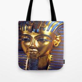 Gold Mask Tote Bag