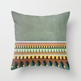 Wall Detail  Throw Pillow