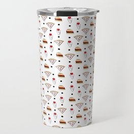 pizza dot weed dot burger dot Travel Mug
