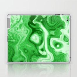 malachite natural rock abstract Laptop & iPad Skin