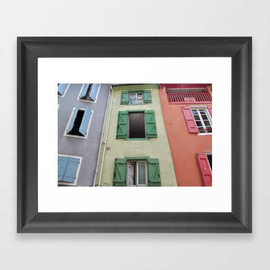 Foix, France Framed Art Print