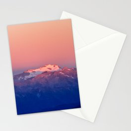 Hochalmspitz in Morningsun Stationery Cards