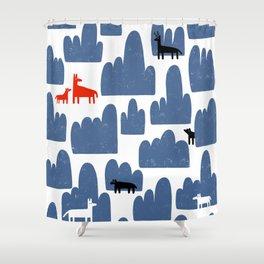 Animal World Shower Curtain