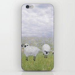 sheep and chicory iPhone Skin