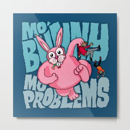 Mo Bunny... Metal Print