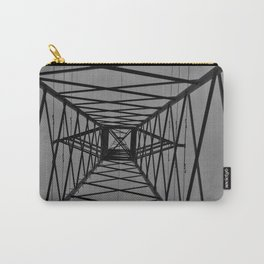 Abstract Image of Electric pylon Carry-All Pouch
