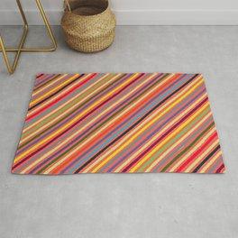 Happy stripes pattern Rug