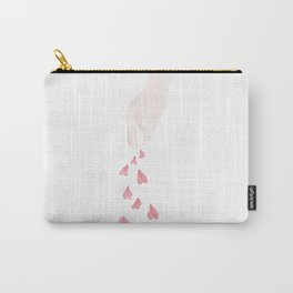 Throwing Flowers For Happines Carry-All Pouch