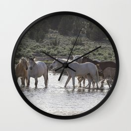 Cooling Off Wall Clock