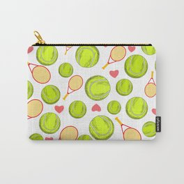 Tennis Insanity print Carry-All Pouch