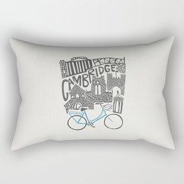 Cambridge Cityscape Rectangular Pillow