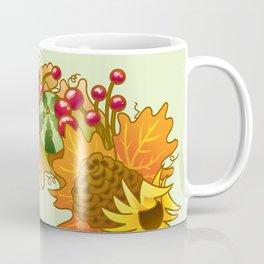 Fall Wreath Coffee Mug