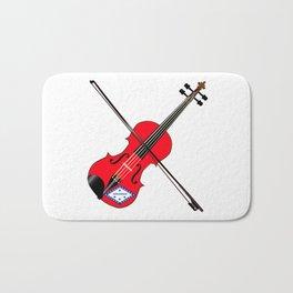 Arkansas State Fiddle Bath Mat