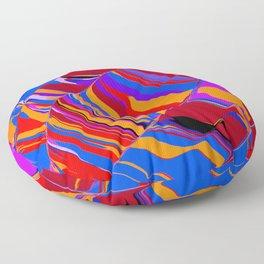 and orange Floor Pillow