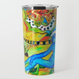 Il conforto dell'artista - the artist's comfort Travel Mug