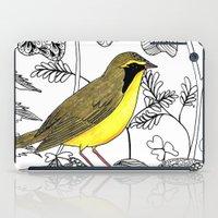 kentucky iPad Cases featuring Kentucky Warbler by Art by Peleegirl