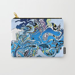 Swimming in the mind Carry-All Pouch