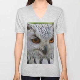 Owl | Chouette Unisex V-Neck