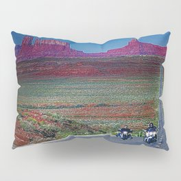 Monument Valley Twilight Pillow Sham
