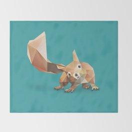 Squirrel. Throw Blanket