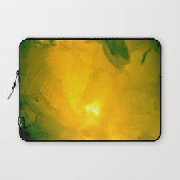 Textures (Yellow version) Laptop Sleeve