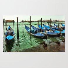 Gondolas Venice Rug