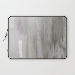 Lavender & Silver Laptop Sleeve