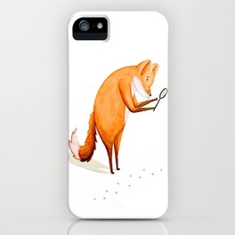 Foxy Detective iPhone Case