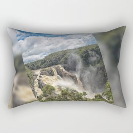 Beautiful Barron Falls Rectangular Pillow