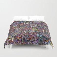 butterfly kaleidoscope Duvet Cover