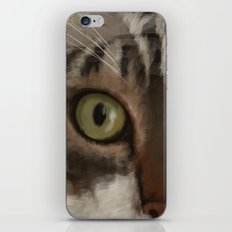 Cat Closer iPhone & iPod Skin