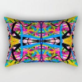 Color Abstraction v.2 Rectangular Pillow