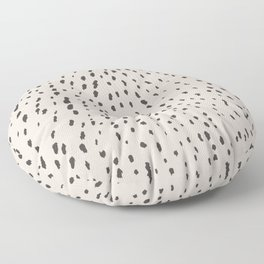 Silver Fawn Spots Floor Pillow