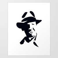 indiana jones Art Prints featuring Indiana Jones by Gavin Foster