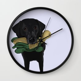 Jaggy and her Turtle Wall Clock
