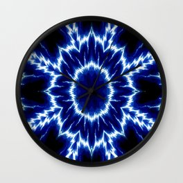 Streaks of Lightenin'.. Wall Clock