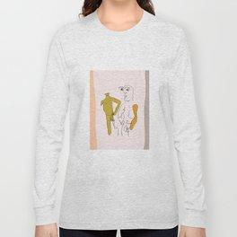 A Bit of Bad Temper Long Sleeve T-shirt
