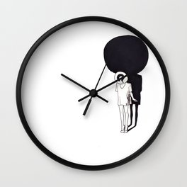 where have i gone? Wall Clock