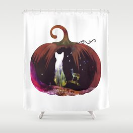 Hallow Kitty Shower Curtain
