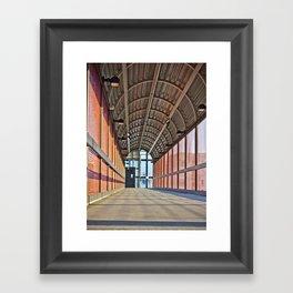 The Walk Way Framed Art Print